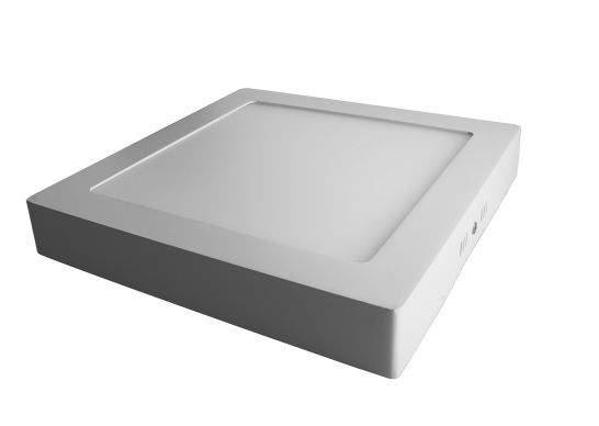 LED ceiling light AIGOSTAR E6 white square 9W 480lm  160° IP20 pure white 4000K