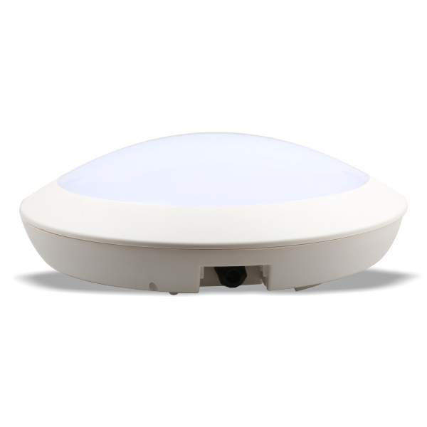 LED dome light LED dome light  300 with sensor white  12W 1200lm CRI80  IP66 4000K pure white