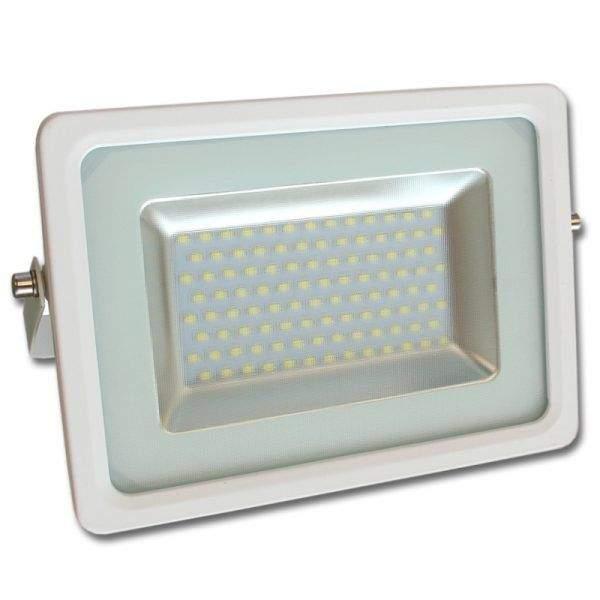 LED Prožektor Slim valge  50W 4500lm  120° IP65 külm valge 6000K