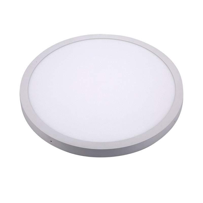 LED kattovalaisin MAYA 600 Ø valkoinen kierros 48W 3600lm  120° IP20 lämmin valkoinen 2700K