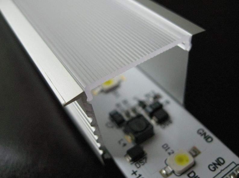 Алюминиевый профиль  ALU PowerLine RPL 35mm 2m