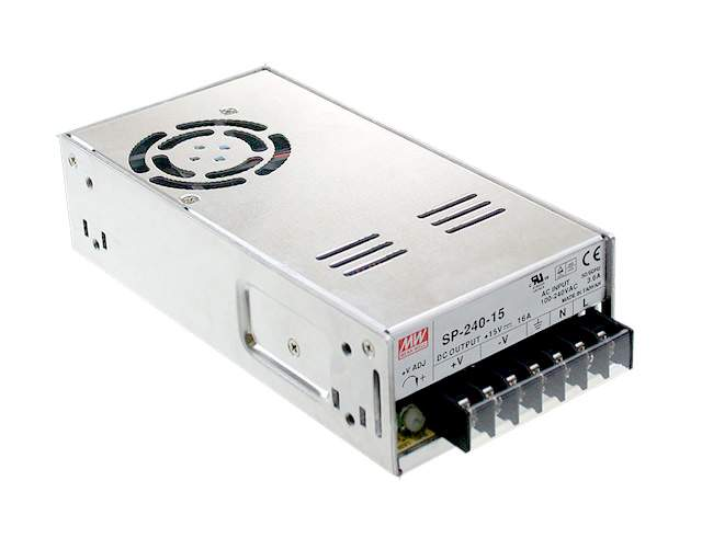 LED power supply unit LED power supply unit MEAN WELL 24V DC  SP-240-24  240W