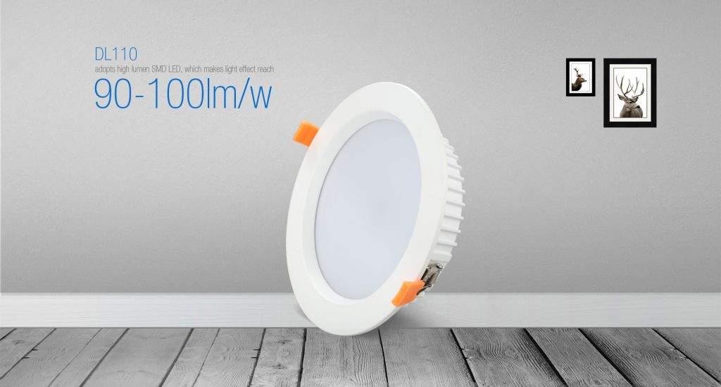 LED локальный светильник PROLUMEN DL110 белый круглый 25W 2300lm  90° IP65 теплый белый 3000K