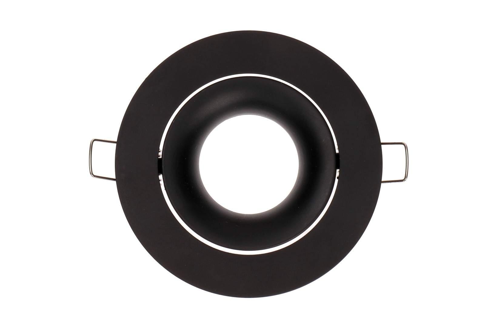 Рамка светильника Рамка светильника  BCR 1 черный круглый