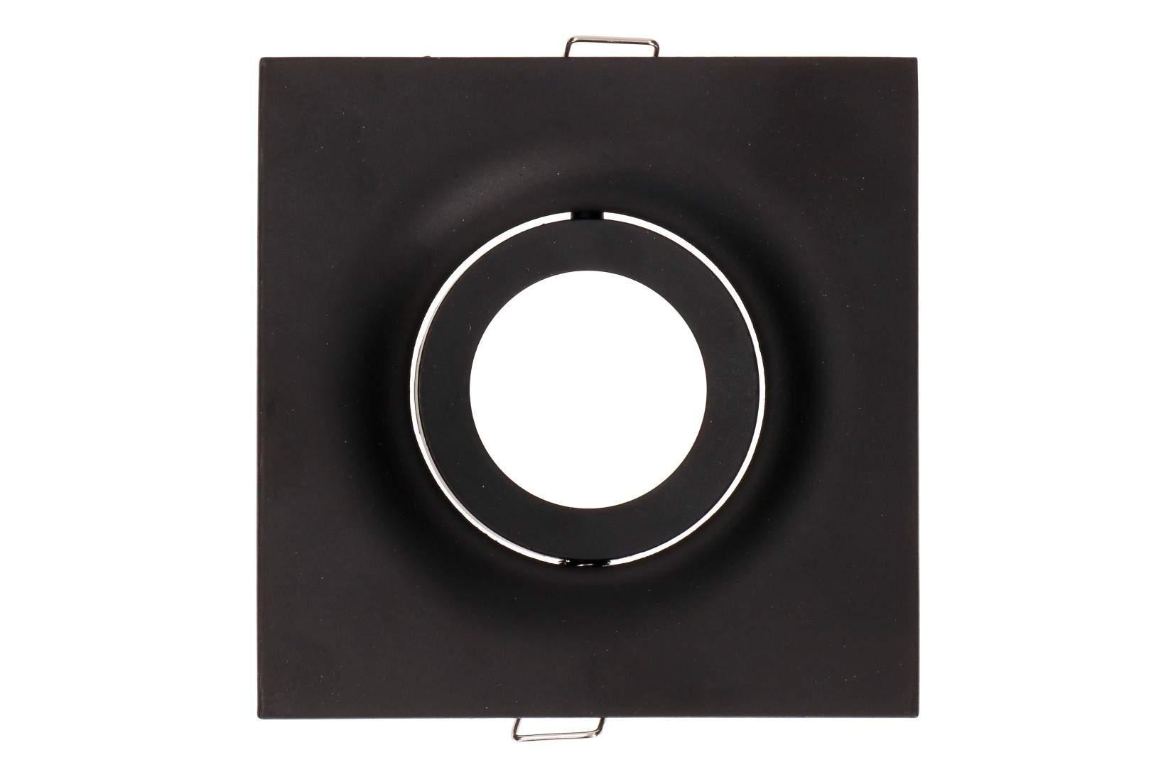 Рамка светильника Рамка светильника  BCR 2 черный квадрат
