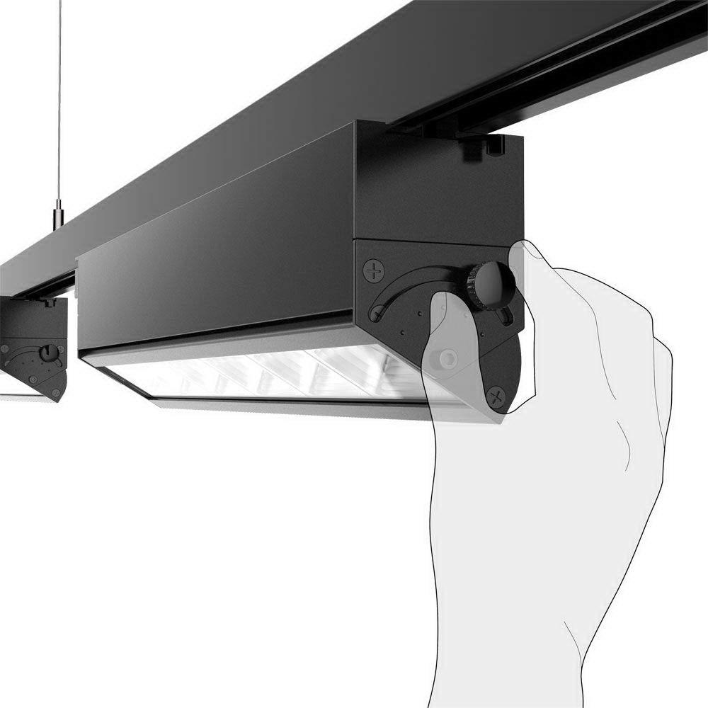 LED светильник на шине PROLUMEN Washington черный  40W  30*60° IP42 дневной белый 4000K