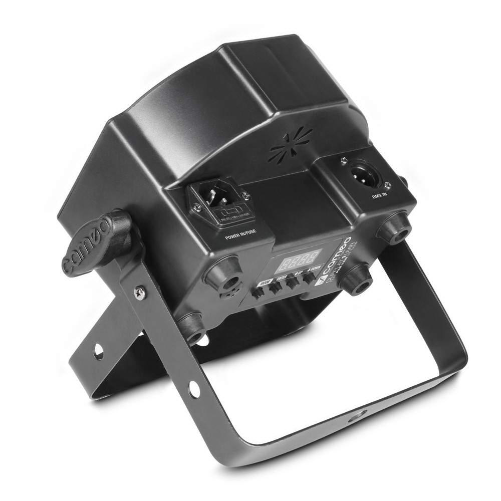 Прожектор CAMEO FLAT PAR CAN 7X3W IR черный  20W  40° UV