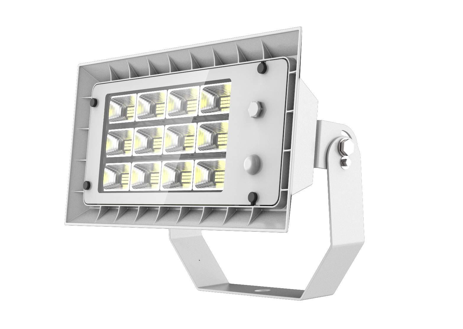 LED Prožektor PROLUMEN FL3 DALI valge  80W 11200lm  60x90° IP66 päevavalge 4000K