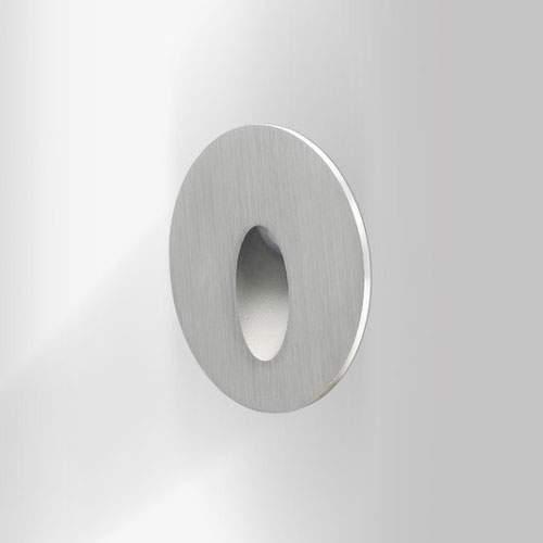 LED Seinavalgusti PROLUMEN SL07 12V hõbedane ring 3W  IP54 soe valge 3000K