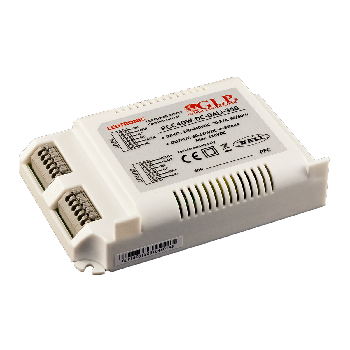 LED Toiteplokk GLP POWER PCC-40W-DC-DALI  40,5W  IP20