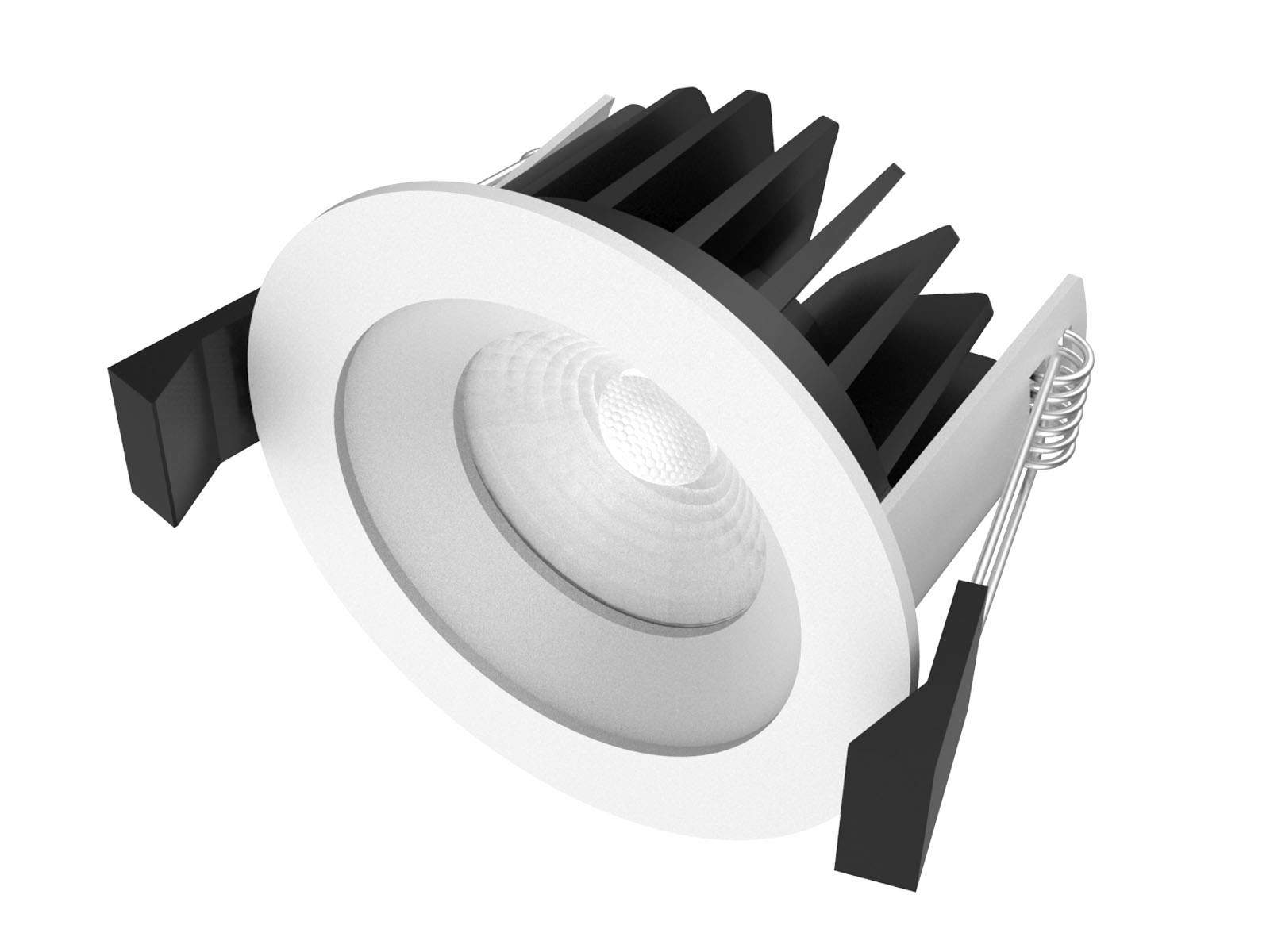 LED downlight LED downlight PROLUMEN DL64 DIM white  10W 900lm CRI80 36° IP40 3000K warm white