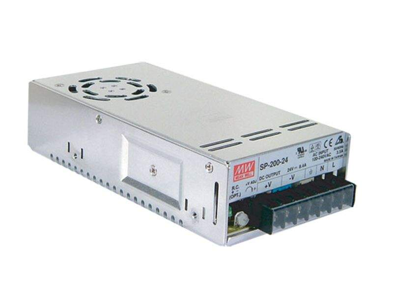 LED power supply unit LED power supply unit MEAN WELL 24V DC  SP-200-24  200W  IP20