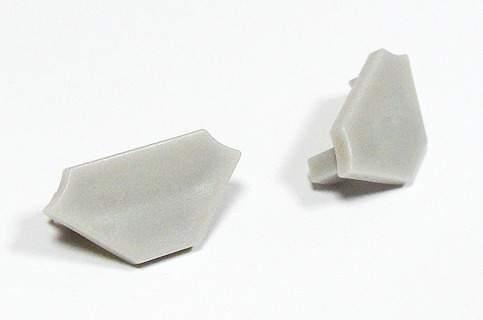 Alumiiniumprofiil Alumiiniumprofiil LUMINES Type C otsakork, hall