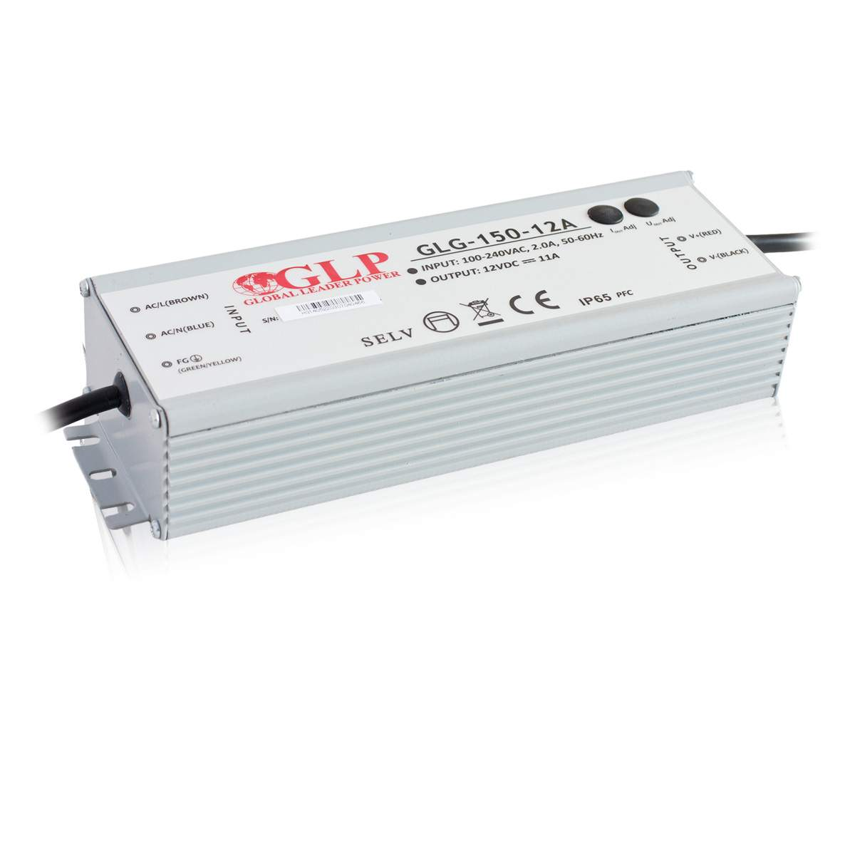 Power supply unit GLP POWER 12V DC GLG-150-12 230V 150W IP65