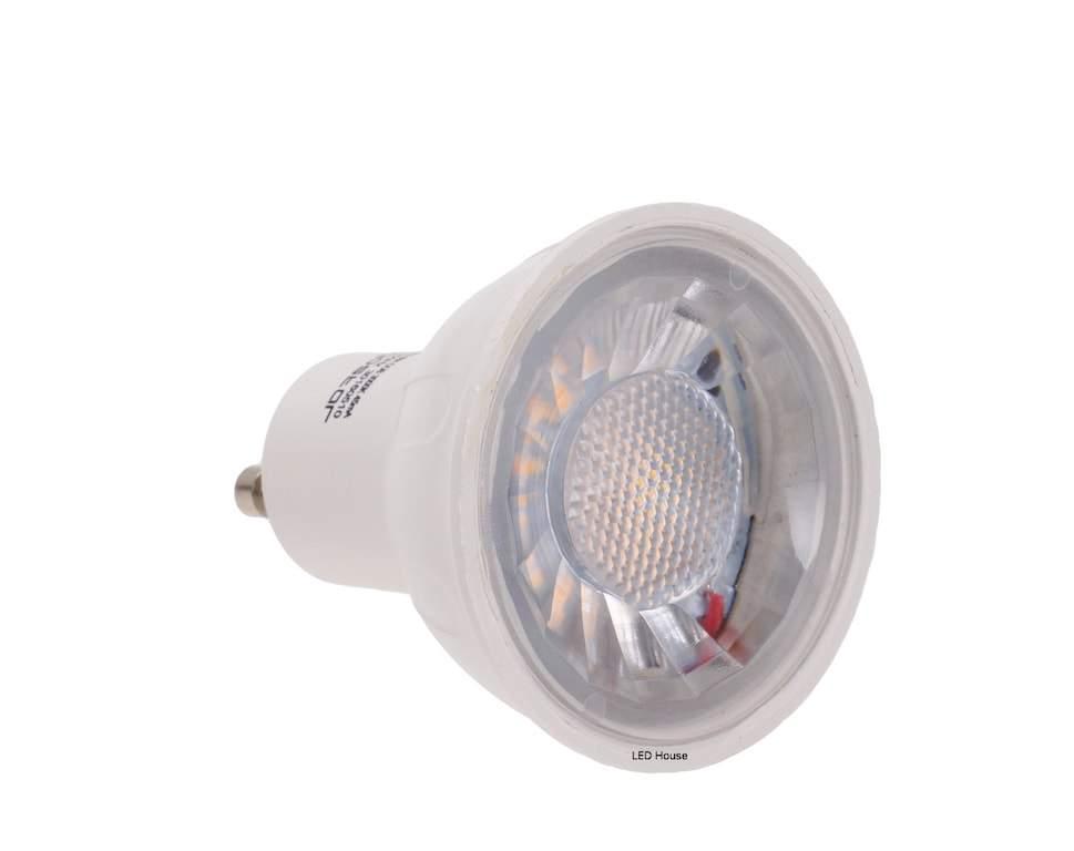 LED bulb LED bulb AIGOSTAR MR16 A5 COB 230V 6W 300lm CRI80 GU10 30° 3000K warm white