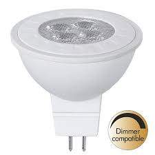 LED Pirn LED Pirn PROLUMEN MR16 ST DIM, 4LED 346-02  12V 5.5W 380lm CRI80G5.3 36° IP20 2700K soe valge