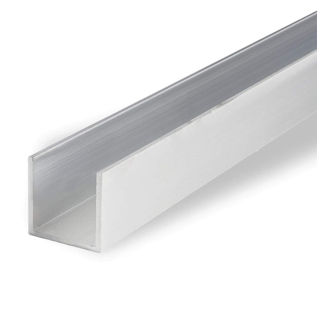 Aluminium profile Aluminium profile  U profiil 15x15x2
