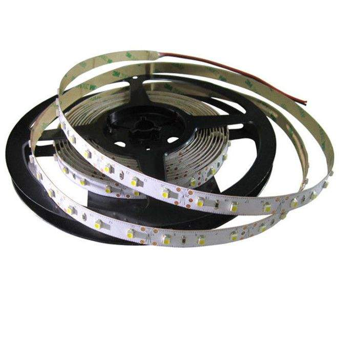 LED strip NX 3528 60LED 1m 12V 4.8W 420lm CRI80 120° IP20 3000K warm white