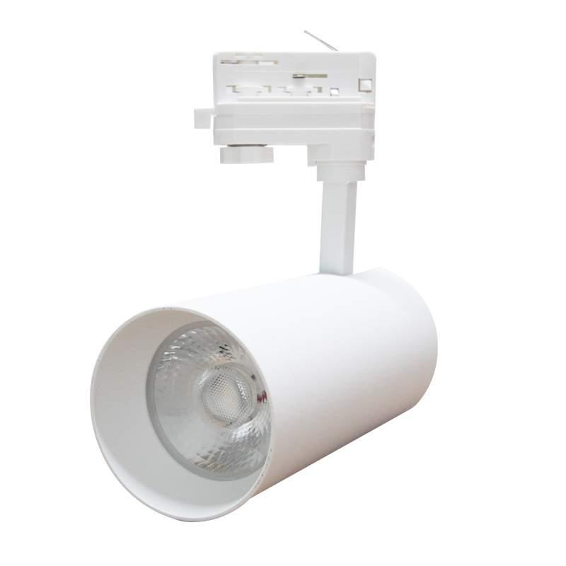 LED-kiskovalaisin LED-kiskovalaisin PROLUMEN Leon valkoinen  40W 4000lm CRI90  30° IP20 3000K lämmin valkoinen