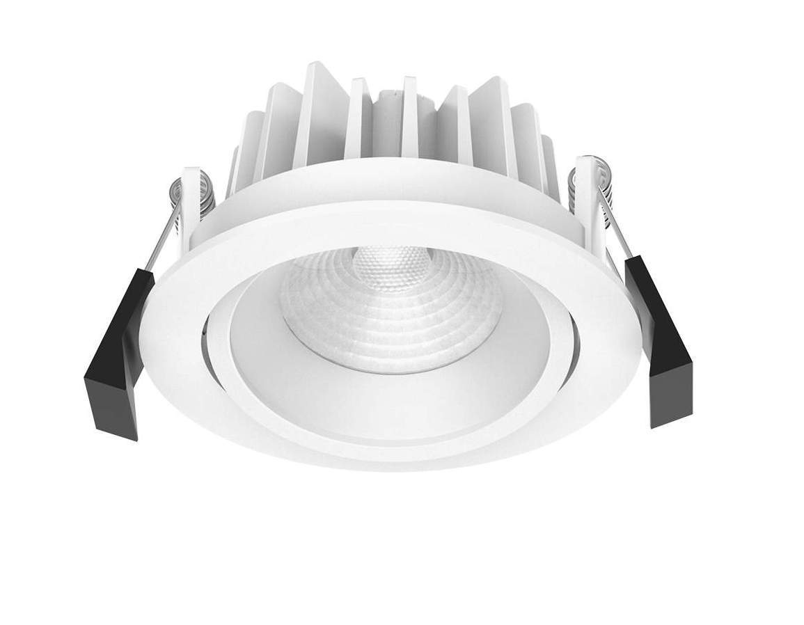 LED downlight LED downlight PROLUMEN CL79 DIM white round 10W 900lm CRI80 36° IP40 3000K warm white