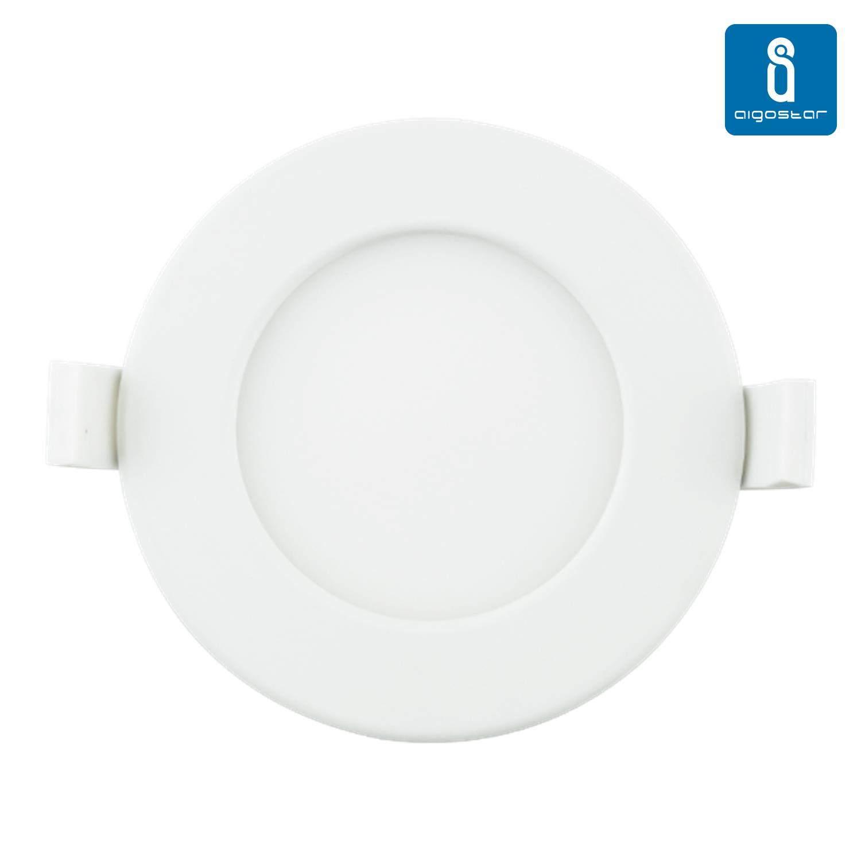LED Paneel LED Paneel AIGOSTAR E6 valge ring 6W 320lm CRI80 160° IP20 3000K soe valge