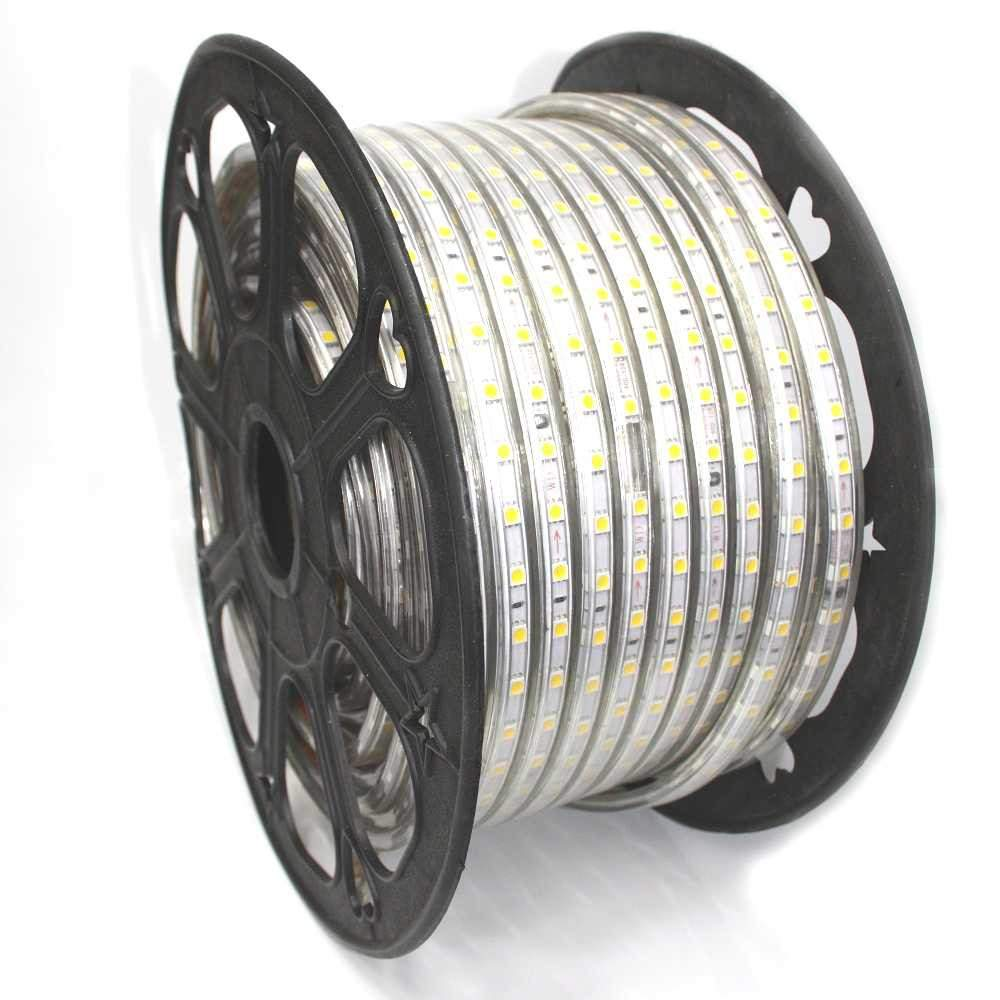 LED strip REVAL BULB 230V 2835 60LED 1m 230V 7W 500 CRI80 120° IP65 3000K warm white