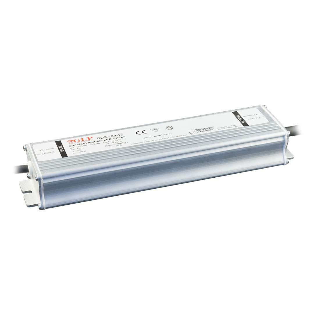 LED Toiteplokk LED Toiteplokk GLP POWER 12V DC DLG-100-12  100W  IP67
