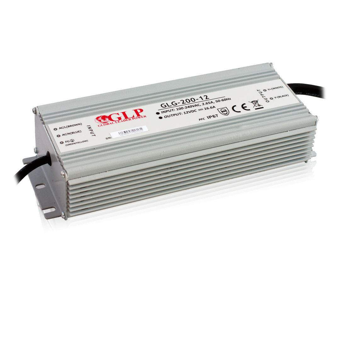 LED блок питания LED блок питания GLP POWER 12V GLG-200-12  200W  IP67
