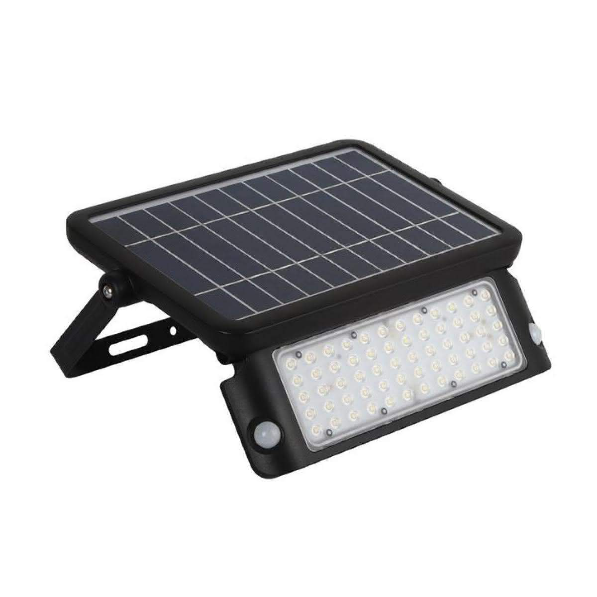 LED floodlight LED floodlight  SOLAR LED MHC 10W NB black  10W 1080lm CRI80 120° IP65 4000K pure white