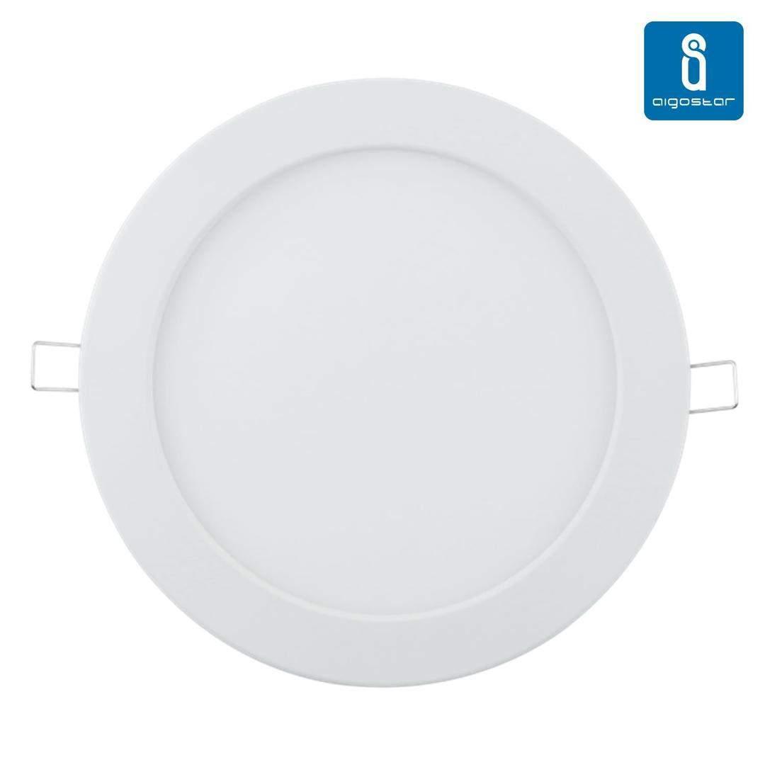 LED Paneel LED Paneel AIGOSTAR E6 valge ring 16W 1180lm CRI80 160° IP20 4000K päevavalge
