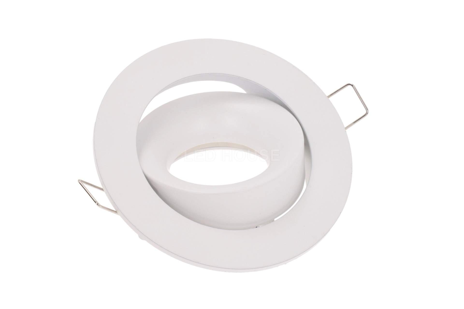 Рамка светильника Рамка светильника  BCR 1 белый круглый