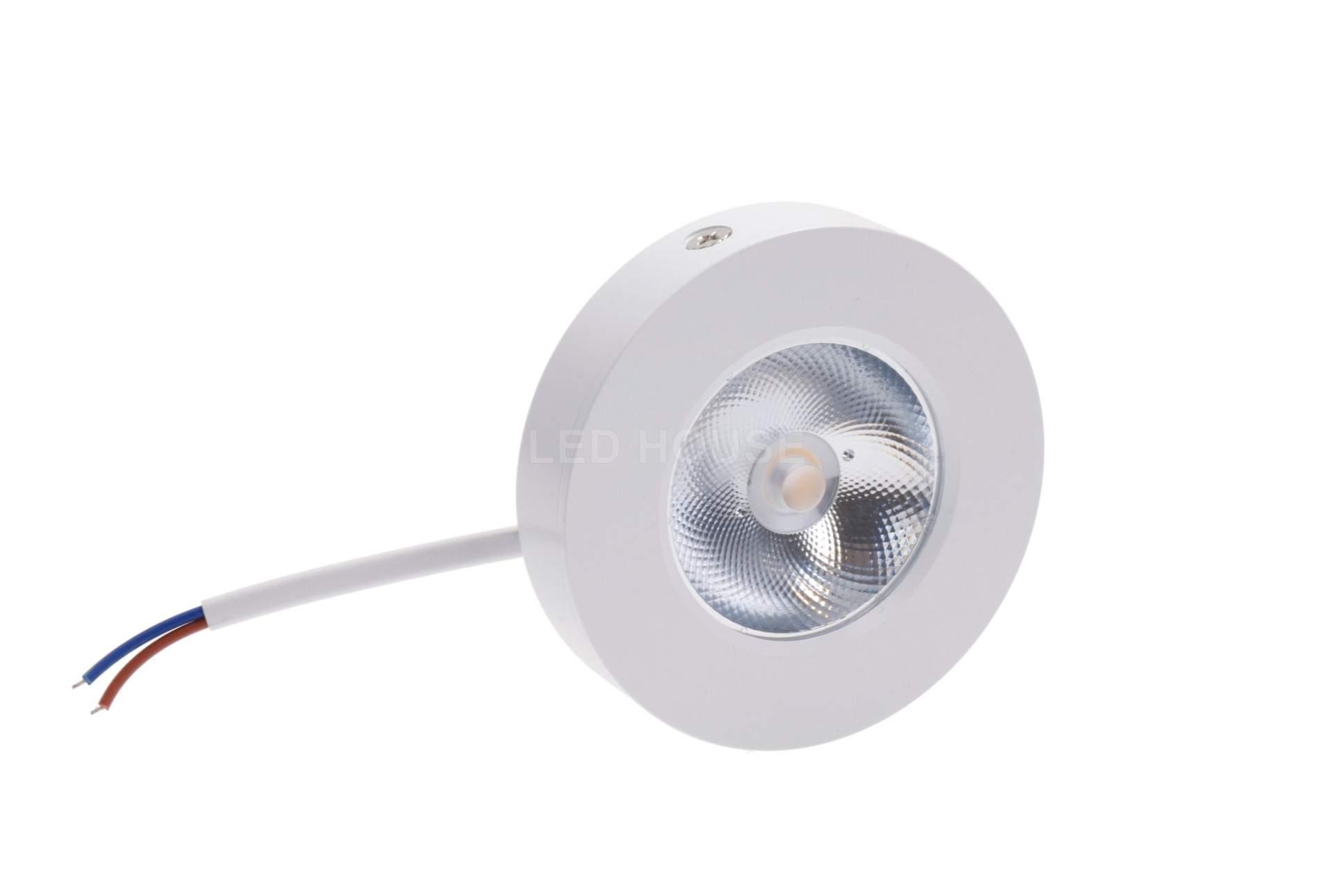 LED Mööblivalgusti REVAL BULB FD DIM valge ring 230V 5W 450lm CRI80 30° IP20 3000K soe valge