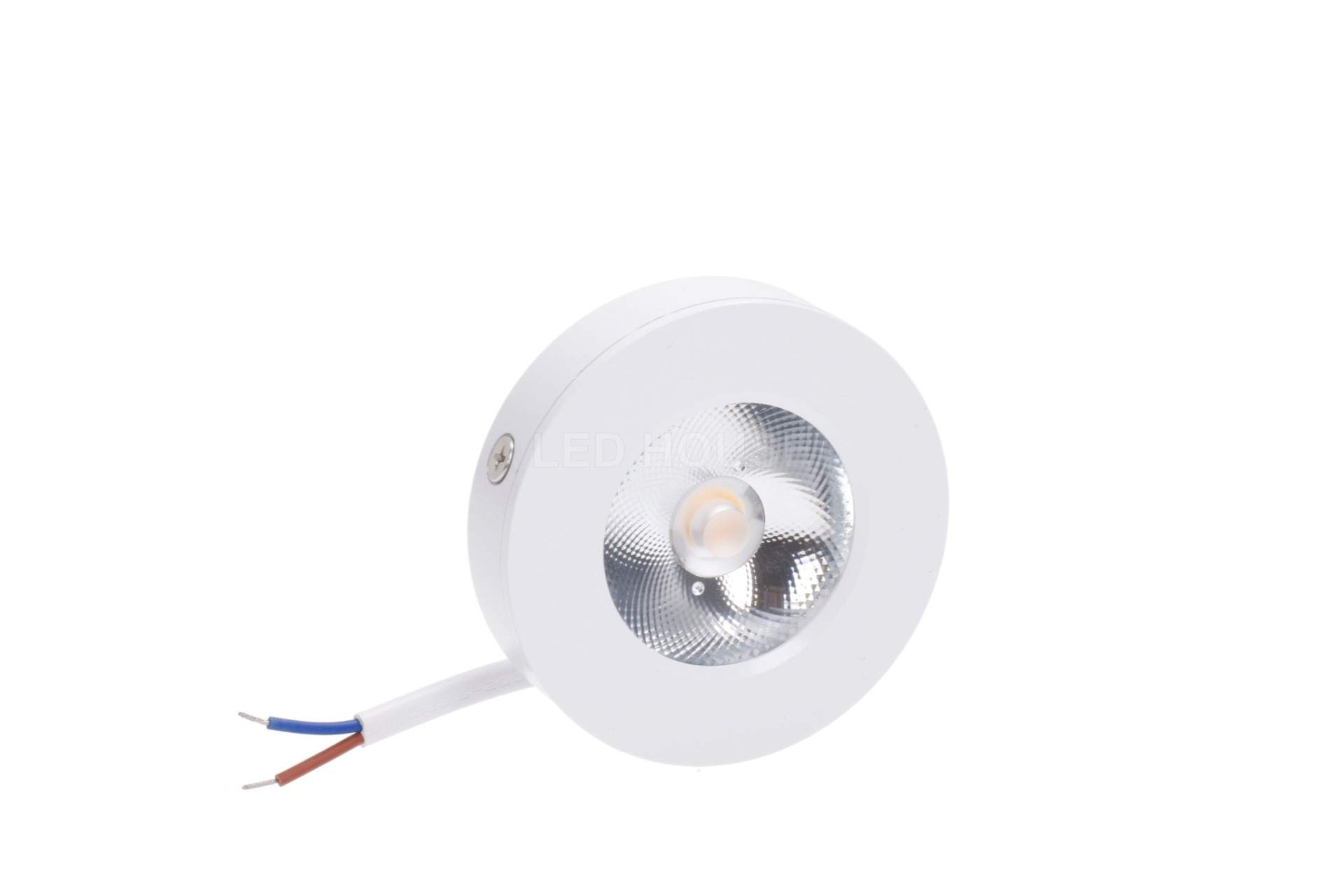 LED furniture light LED furniture light REVAL BULB FD DIM white round 7W 600lm CRI80  30° IP20 3000K warm white