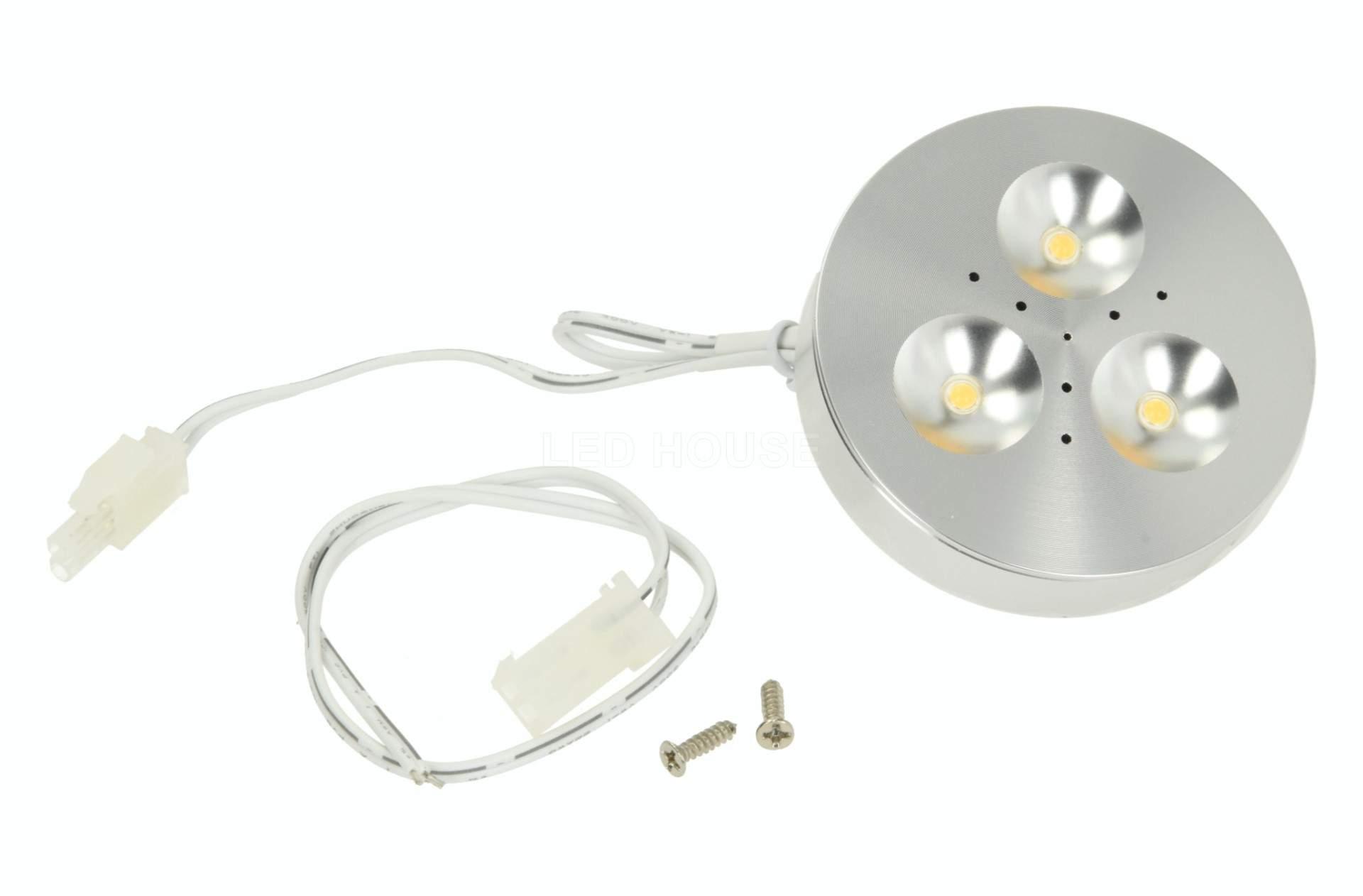 LED furniture light LED furniture light PROLUMEN MV-L silvery  12V 3W 210lm  120° 3000K warm white