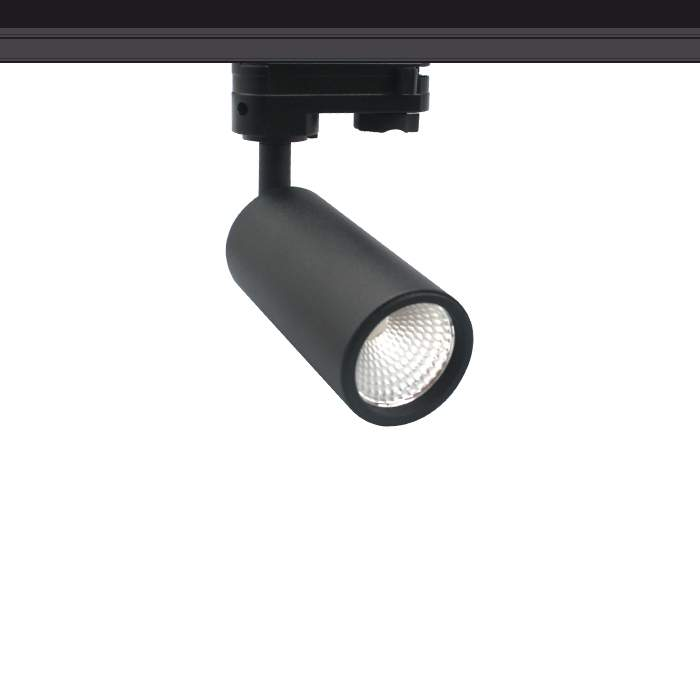 LED track light PROLUMEN Bolton‎ TRIAC black 230V 10W 900lm CRI90 24° IP20 4000K pure white