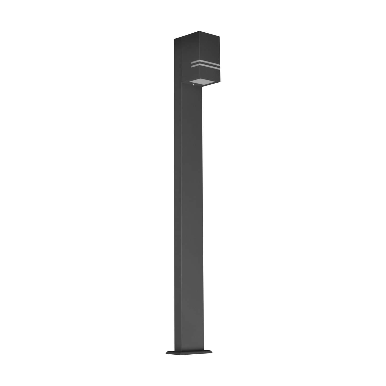 Bollard light Quazar 12 gray 230V GU10 IP44