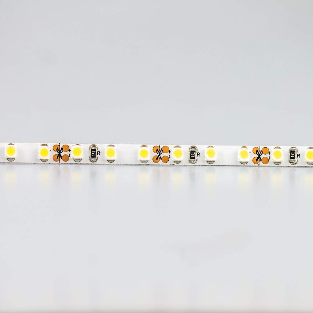 LED strip REVAL BULB 3528 120LED 1m 24V 9.6W 1000lm CRI90 120° IP20 3000K warm white