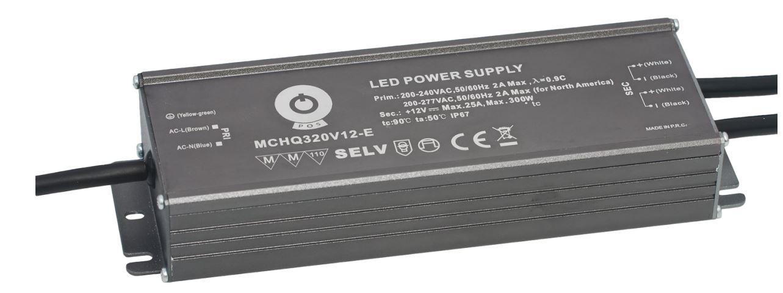 Power supply unit POS POWER 24V MCHQ320V-E 230V 321W IP67