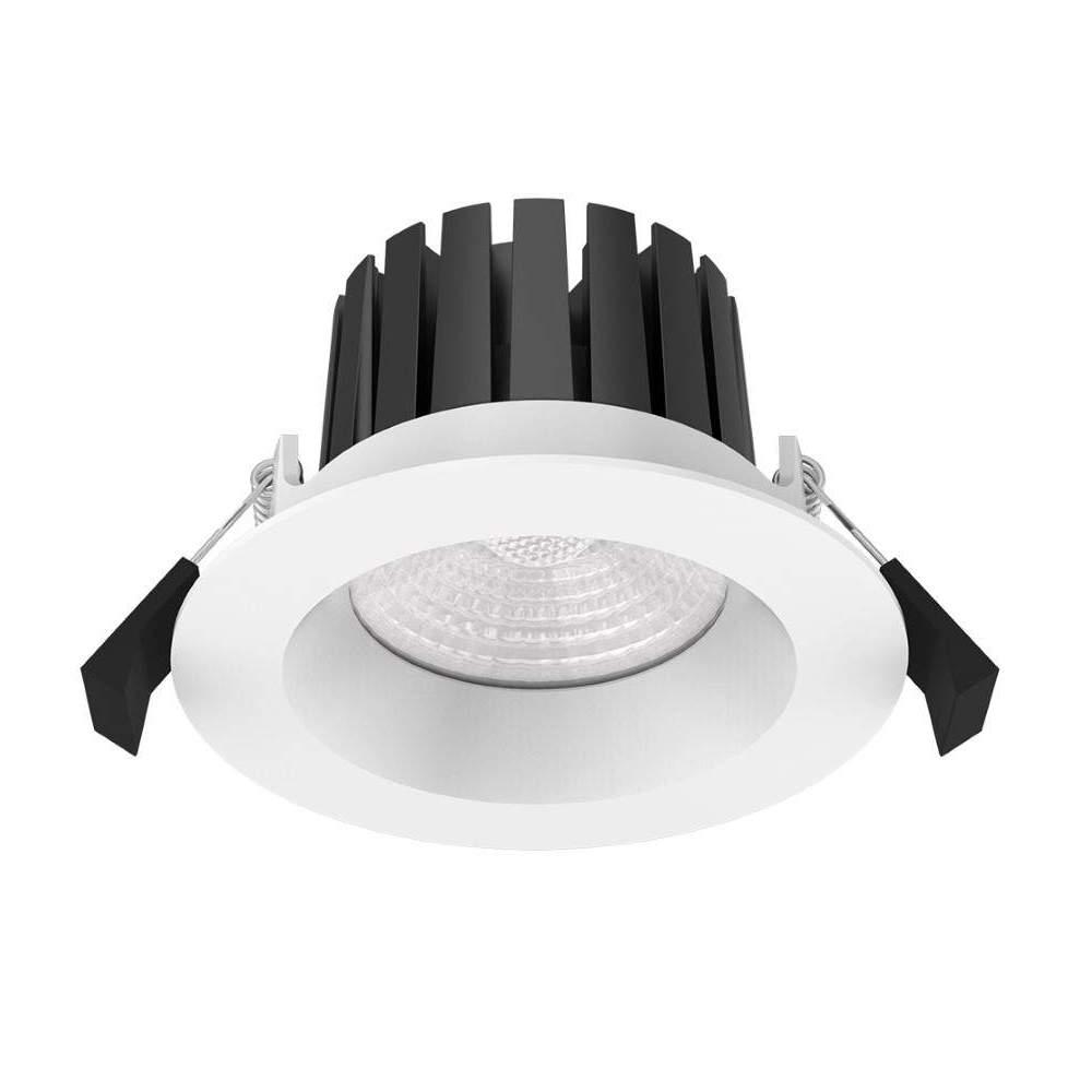 LED-alasvalo PROLUMEN DL103B 2.5 TRIAC valkoinen kierros 230V 10W 860 CRI80 36° IP65 3000K lämmin valkoinen