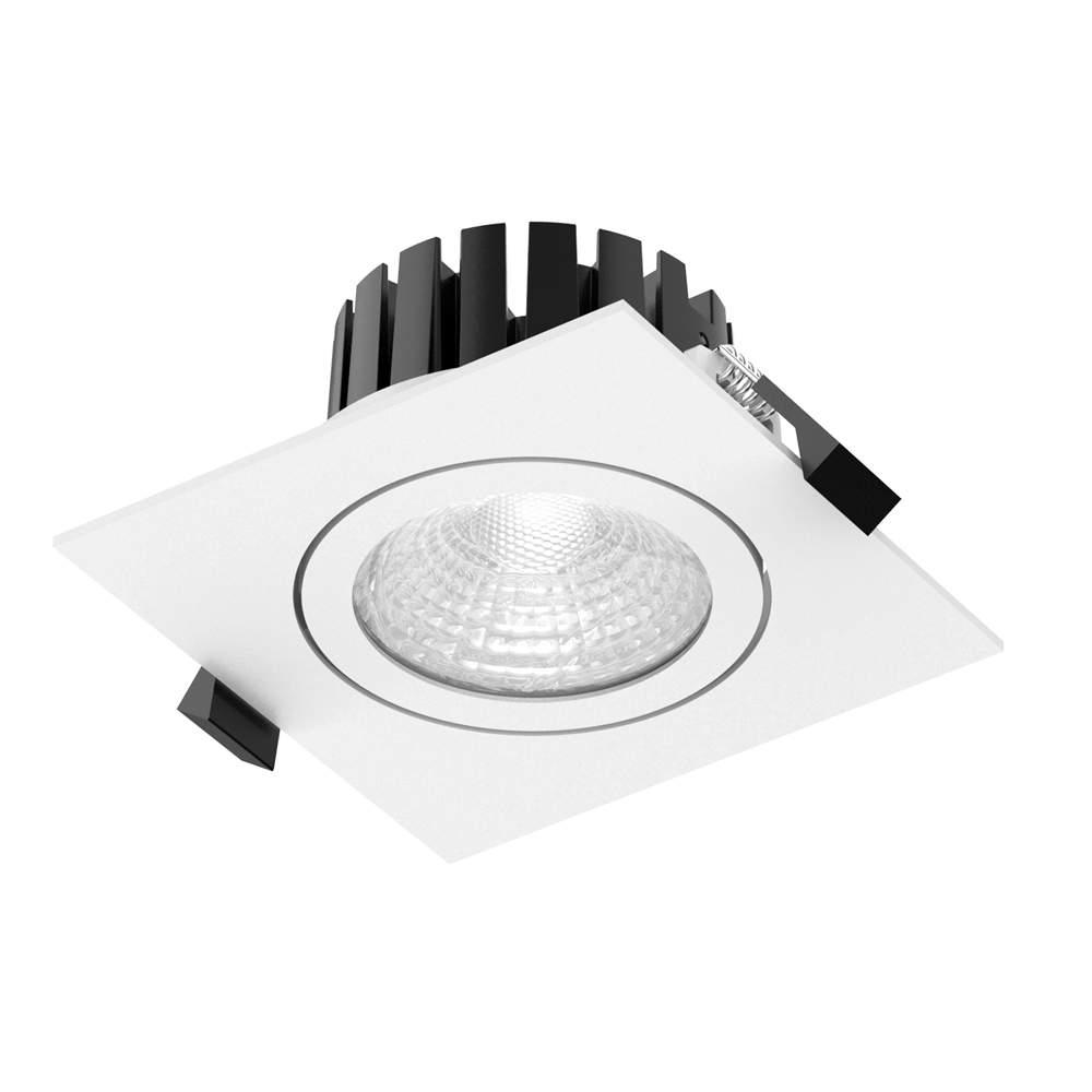 LED Allvalgusti PROLUMEN CL104A 2.5 valge ruut 230V 8W 815lm CRI80 60° IP65 3000K soe valge