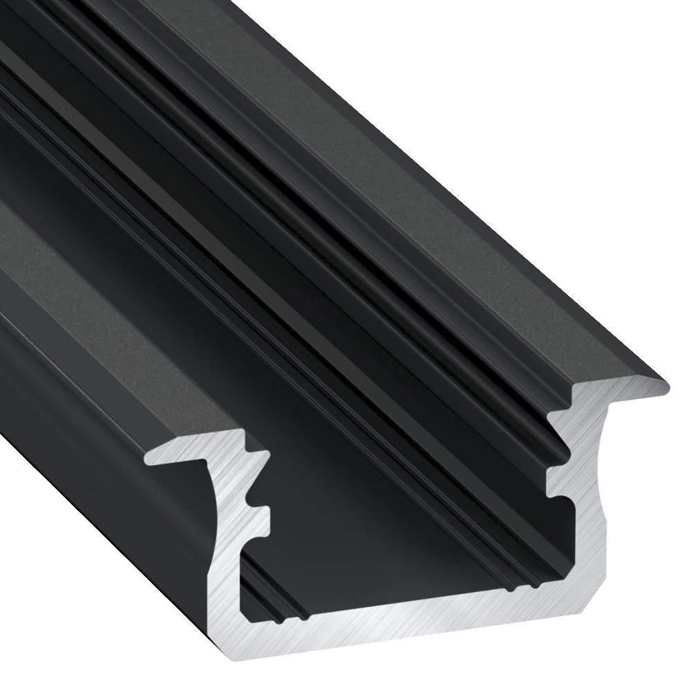 Alumiiniumprofiil LUMINES Type B 2m must