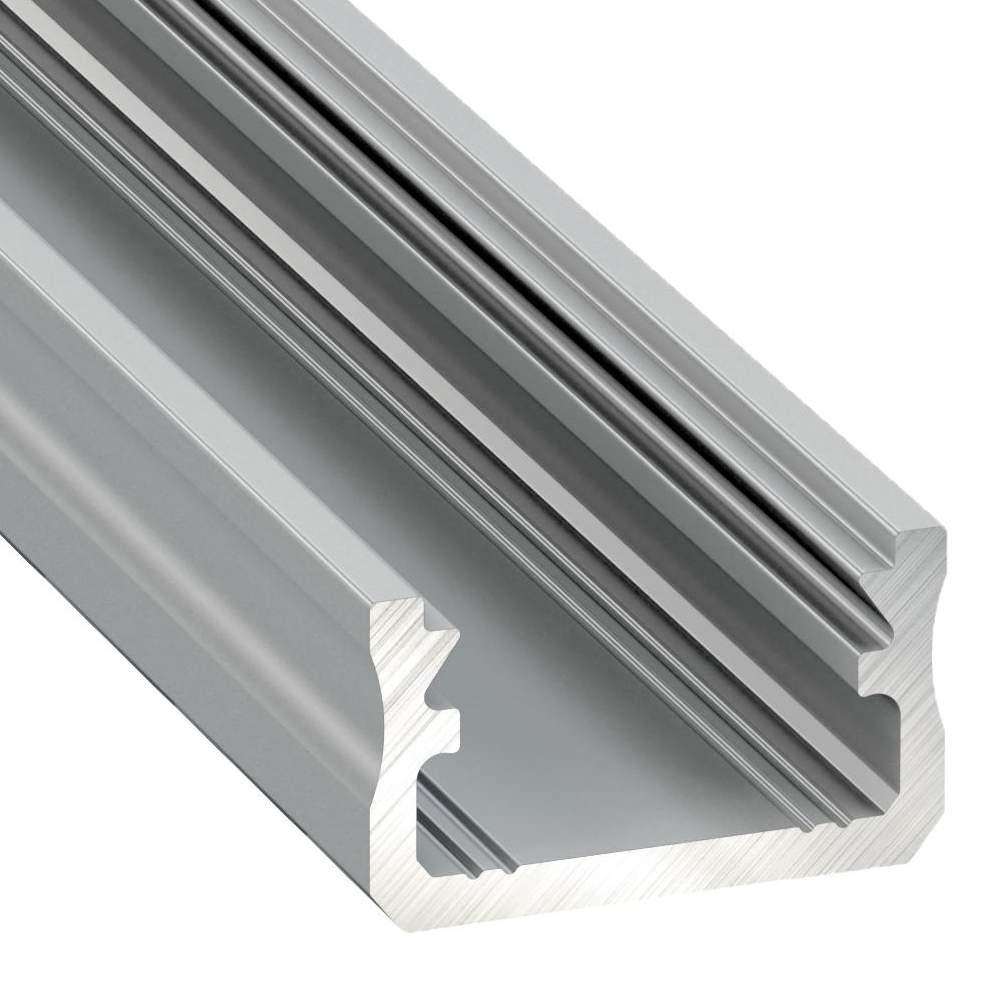 Alumiiniumprofiil LUMINES Type A 2m hõbedane