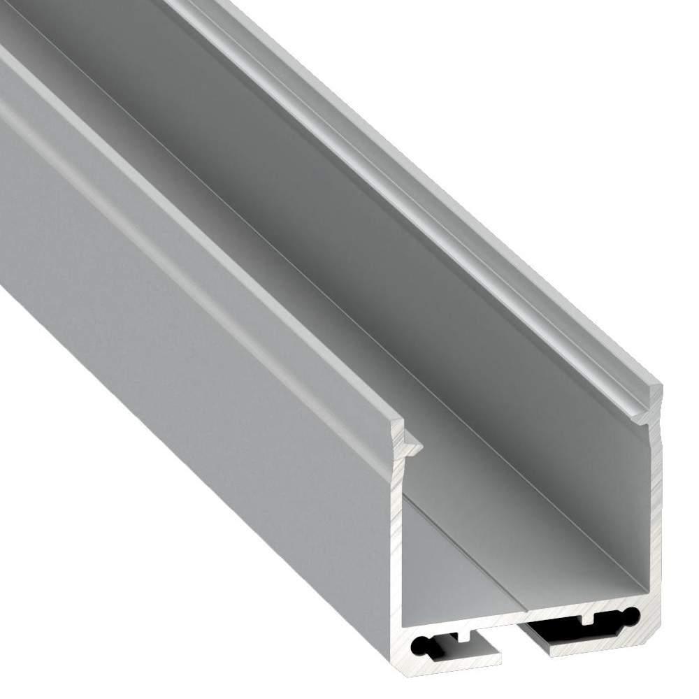 Alumiiniumprofiil Alumiiniumprofiil LUMINES DILEDA 2m hõbedane