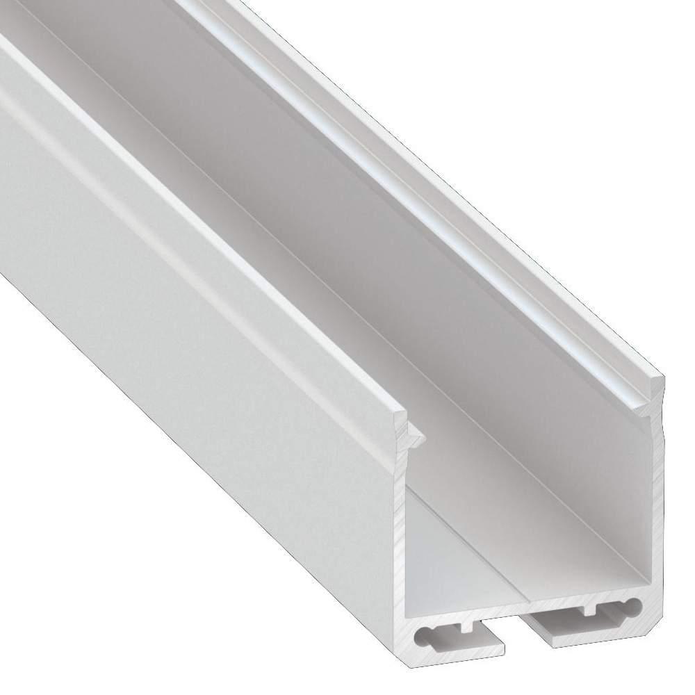 Alumiiniumprofiil Alumiiniumprofiil LUMINES DILEDA 2m valge