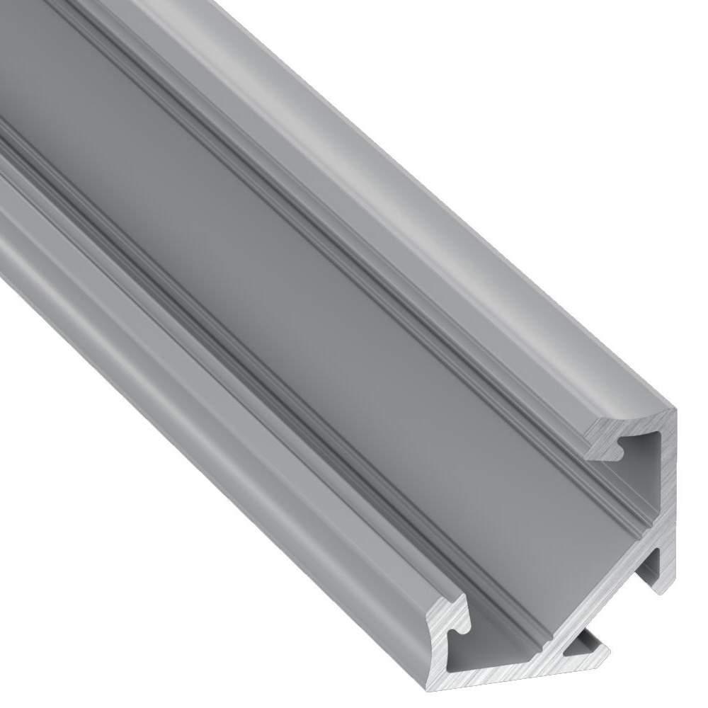 Алюминиевый профиль LUMINES Type C 2m серебряный
