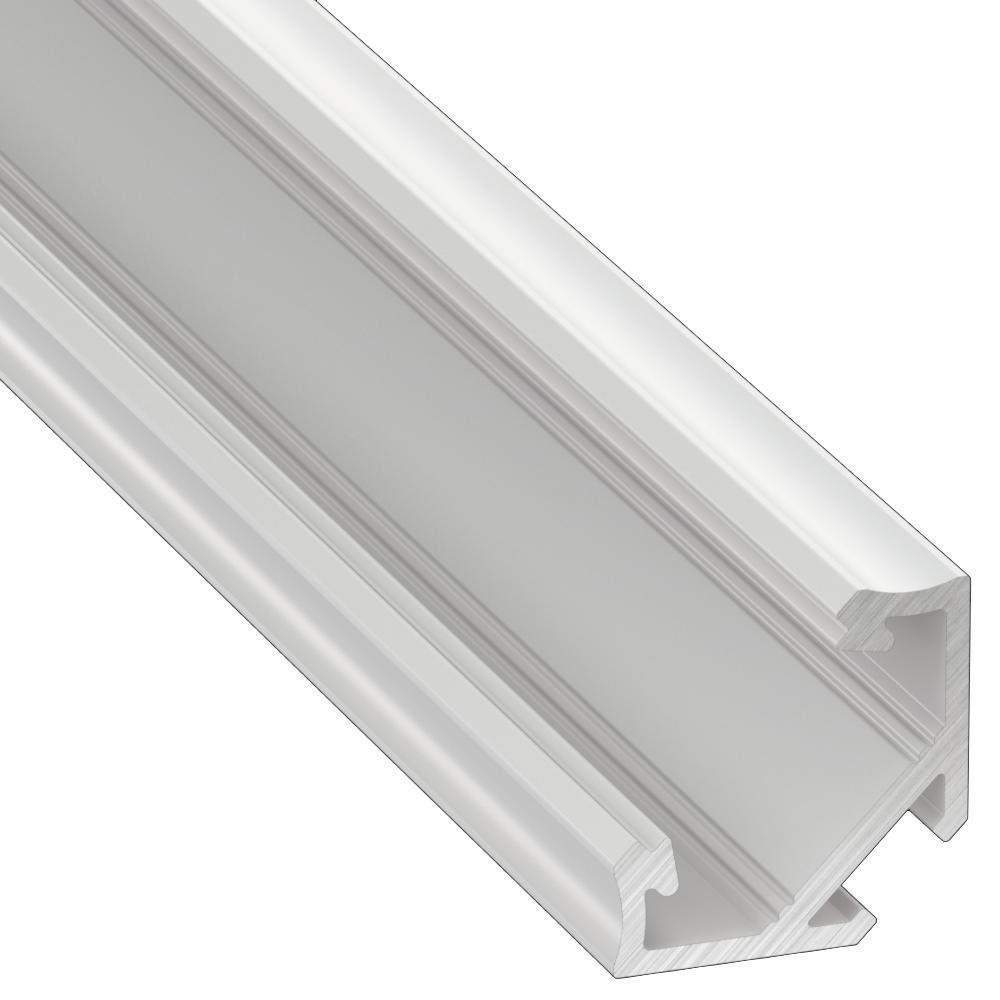 Aluminium profile LUMINES Type C 2m white