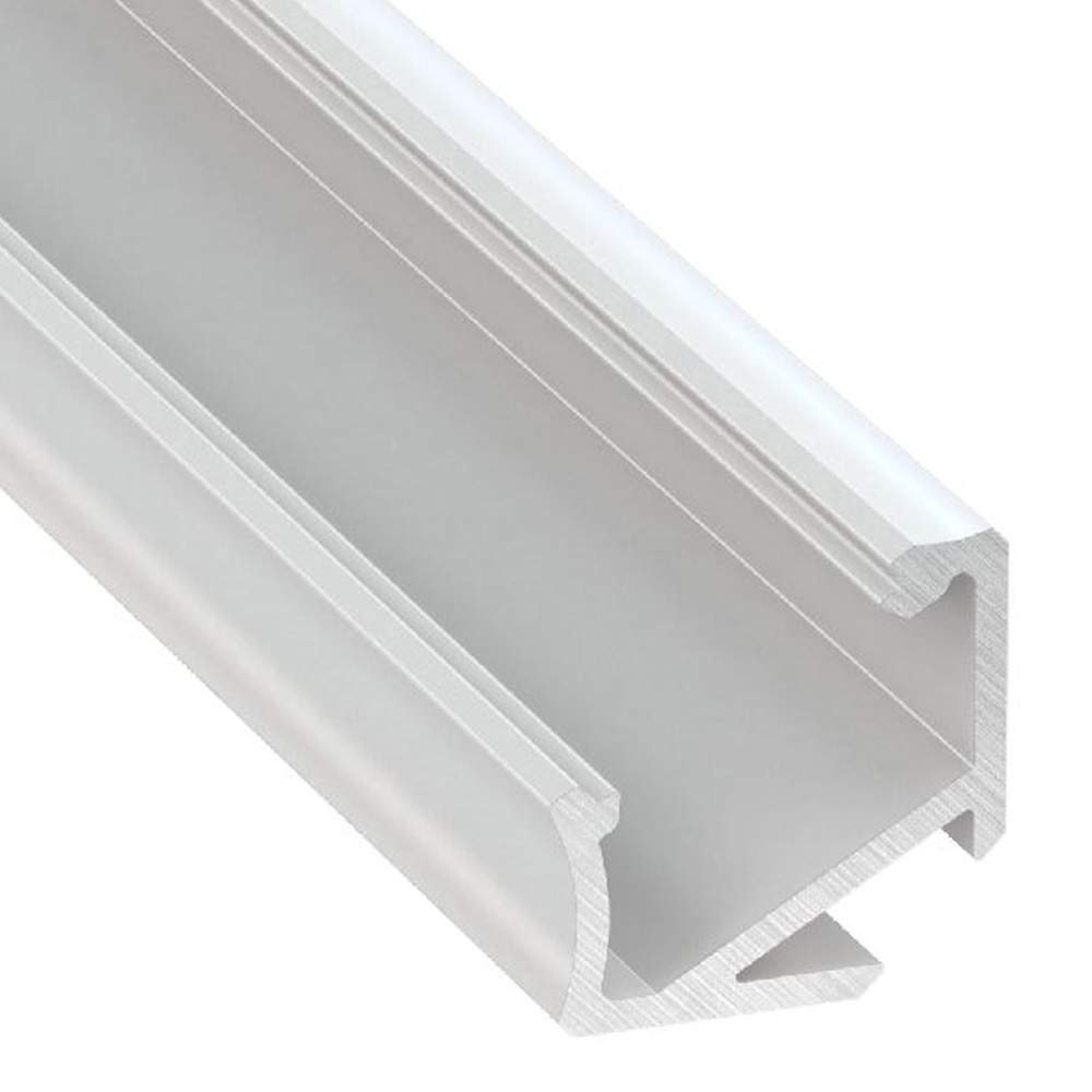 Alumiiniumprofiil Alumiiniumprofiil LUMINES Type H 2m valge