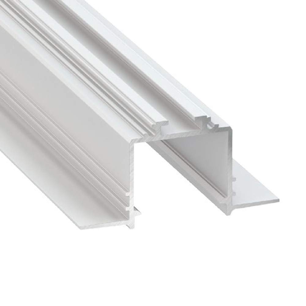 Aluminium profile LUMINES Subli white