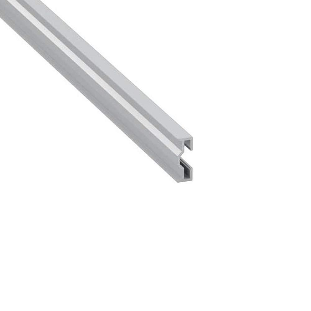 Alumiiniprofiili Sparo 2m hopea