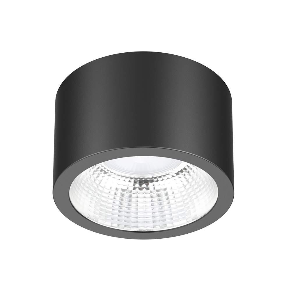 LED Allvalgusti PROLUMEN DL115A must 18W 1890lm CRI80 90° IP54 4000K päevavalge